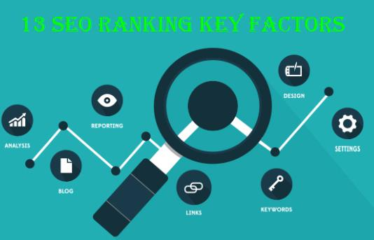 The 13 SEO Ranking Key Factors You Need to Know about - Essential Tools and Tips